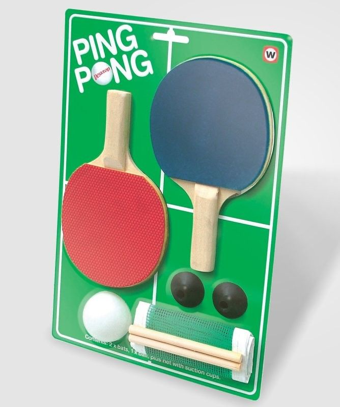 Desktop Ping Pong Kit: NOW $7.99! (was $14)