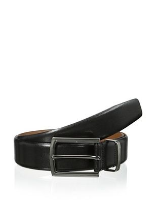 60% OFF J. Campbell Los Angeles Men's Feather Edge Metal Keeper Belt (Black)