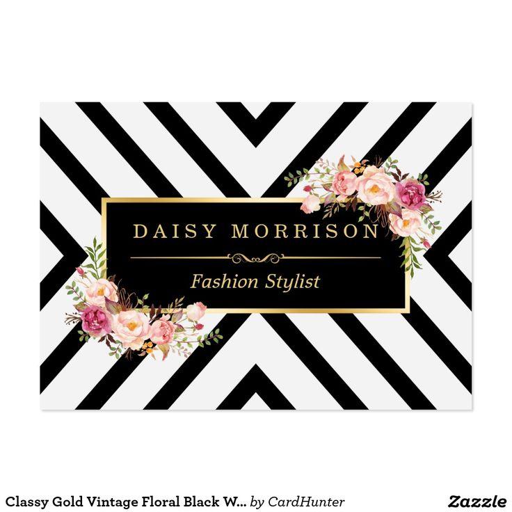 Best 124 Business Cards: Floral ideas on Pinterest | Visit cards ...