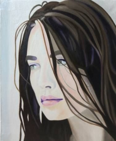 Re-Created Girl Looking into the Distance by #Robert #S. #Lee #art #konst #arte #Изобразительное искусство #kunst #seni #미술 #アート#艺术 #művészet #taide #sining #umění #فن    #мистецтво #painting  #schilderij #Malerei #peinture #pittura #pintura #målning #maleri #maalaus #绘画 #絵画 #malba #festmény #لوحة# #покраска #pintura #maleri #lukisan #그림 #lukisan #pagpipinta #фарбування #girl, #meisje, #Mädchen,  #flicka, #dívka, #девушка ,#女孩, #女の子, #소녀 ,#menina, #дівчина, #model, #modelo