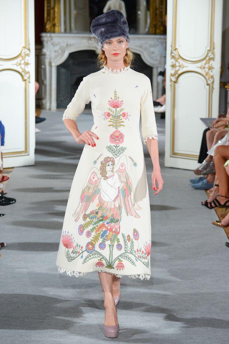 Look 28 Yanina Couture FW1516 #yaninacouture
