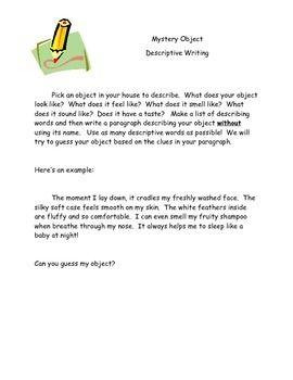 Write A Short Paragraph Describing Your House idea gallery