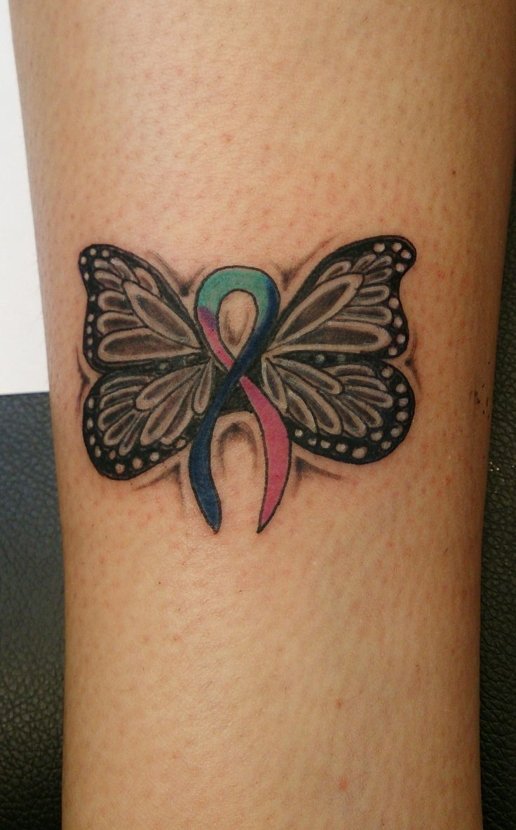 17 best images about thyroid cancer tattoo on pinterest for Butterfly memorial tattoos