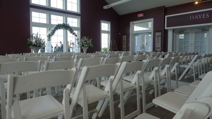 Wedding Ceremony In The North Tasting Room Starkey S