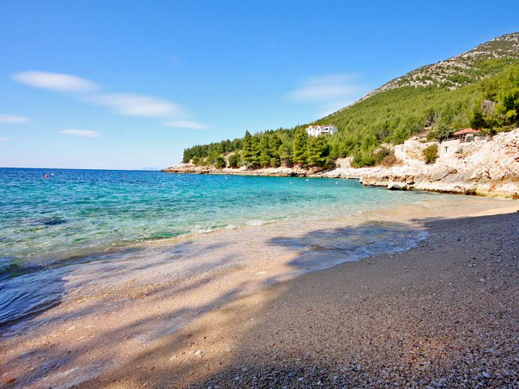 Summer is coming to Croatia! Fabulous sunny weather at the moment on Zavala beach on Hvar Island.