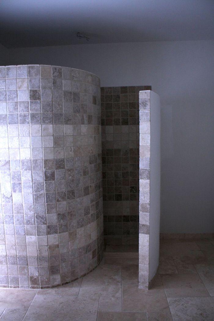 Schneckendusche Mit Naturstein Fliesenlegermeister Christian Jurgens Dusche Badezimmer Einrichtung Natursteine