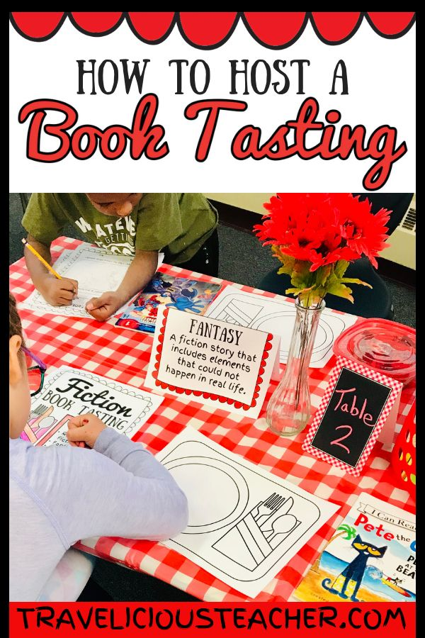 How to Host a Book Tasting in a Primary Classroom