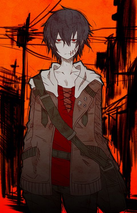 Anime Characters For Halloween : Best ideas about dark anime guys on pinterest