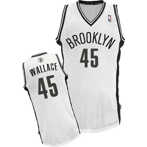 07a05799674 ... New Revolution 30 Road Black Jersey Brooklyn Nets 45 Gerald Wallace  Authentic White Jersey NBA Jerseys now 36% OFF!
