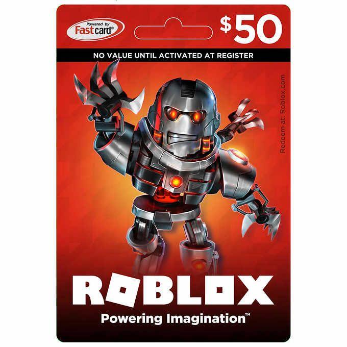 Roblox Game Card $ 50 Digitaler Download   – christmas list