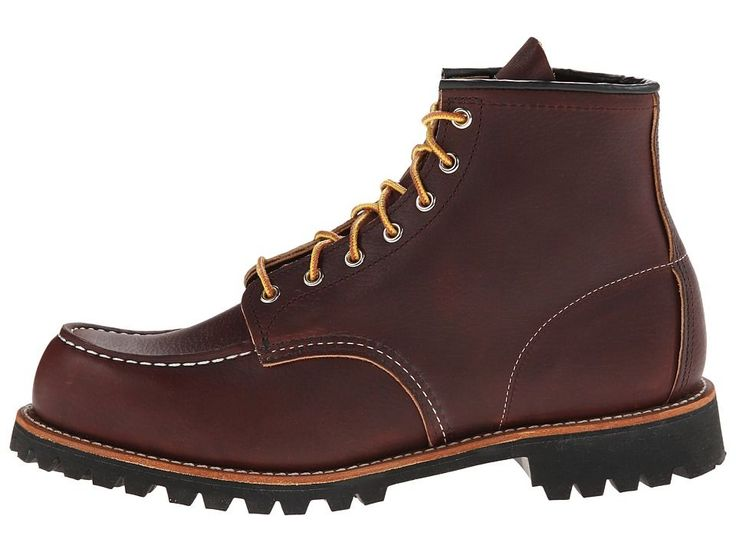 Red Wing Heritage 6 Moc Toe Lug Men's Lace-up Boots Briar Oil Slick