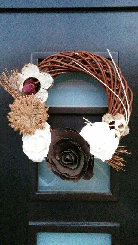Late summer wreath