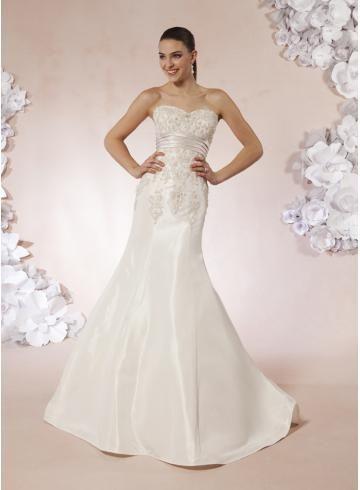 Zahrada / Venkovní Styl trumpeta / Mořská panna Elegantní & moderní Svatební šaty 2012