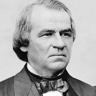 on December 29, 1808, in Raleigh, North Carolina, Andrew Johnson became the 17th president of the United States upon the assassination of President Abraham Lincoln in April 1865. His lenient Reconstruction policies toward the South, and his vetoing of Reconstruction acts, embittered the Radical Republicans in Congress and led to his political downfall and impeachment, though he was