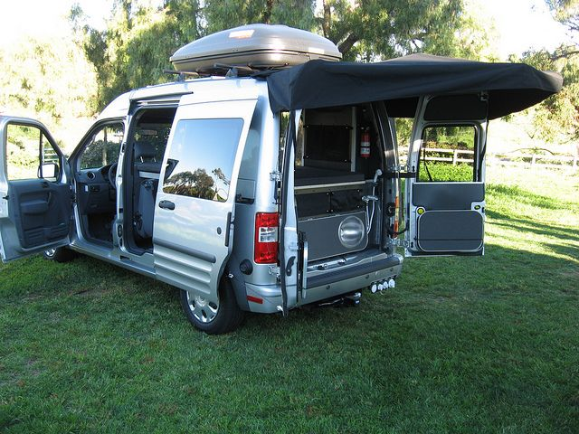 ford transit connect camper 3 the great outdoors ford. Black Bedroom Furniture Sets. Home Design Ideas