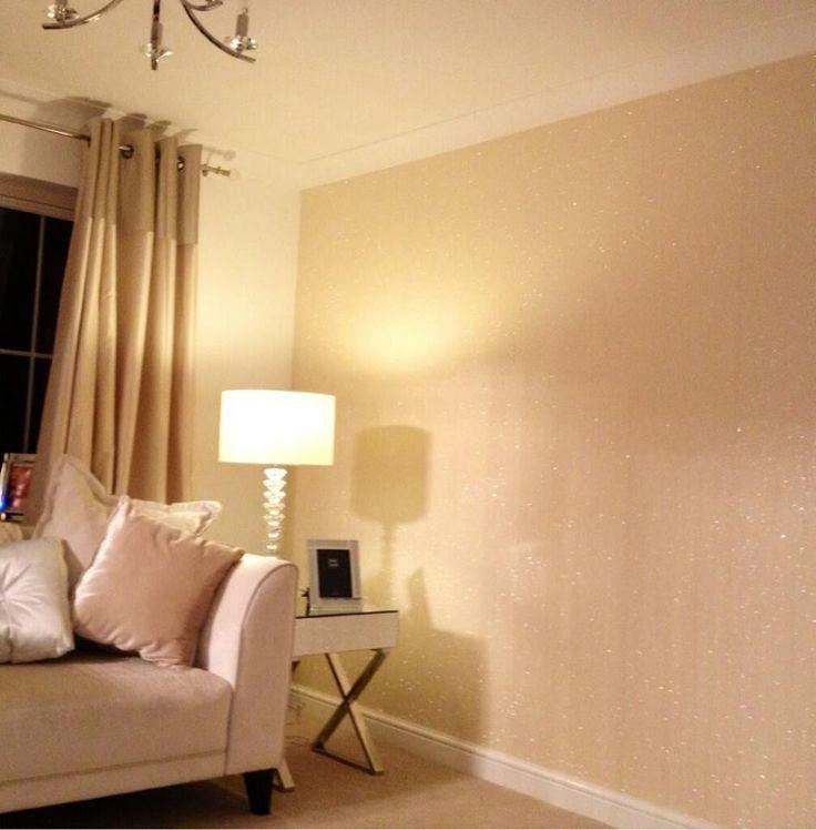 20 best glitter wallpaper images on pinterest glitter for Glitter wallpaper for bedroom
