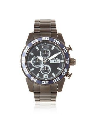Invicta Men's 13677 Specialty Gunmetal Stainless Steel Watch