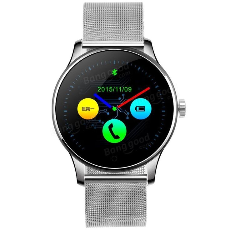Only US$51.99 , shop K88H Smart Bluetooth Watch Anti-lost Heart Rate Monitor Round Siri Classic Smartwatch at Banggood.com. Buy fashion Quartz Watches online.
