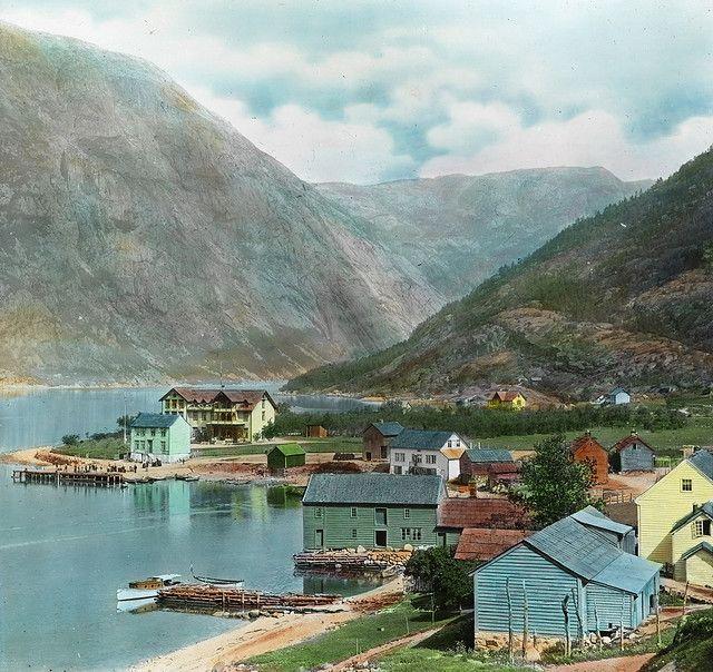 Eidfjord, ca 1915.