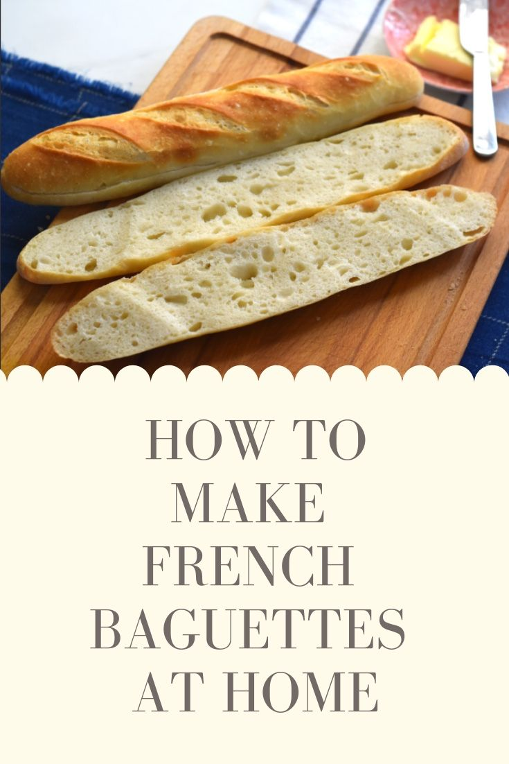 Oven Fresh Artisan French Baguette :Easy No Knead French