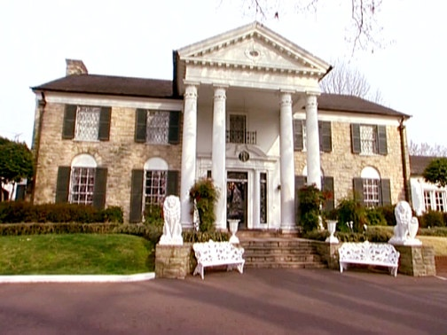 #Graceland, #ElvisPresley's home for more than 20 years, became synonymous with the singer himself.