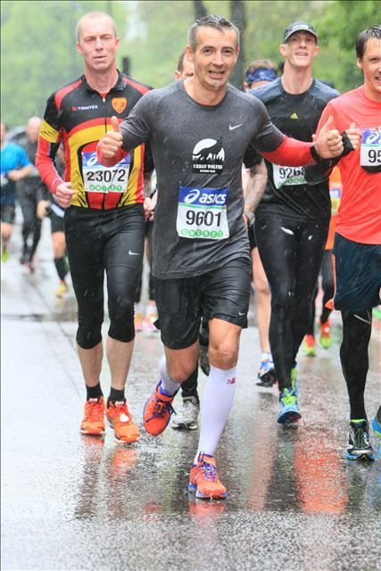 ASICS Stockholm Marathon 30.05.2015, PIOTR GOLOS 3:55:02