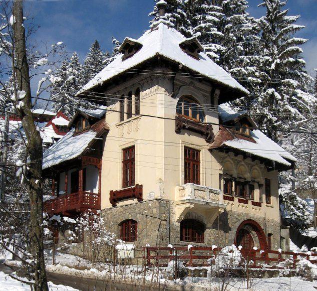 Villa Statie Ciortan, Sinaia, Prahova.