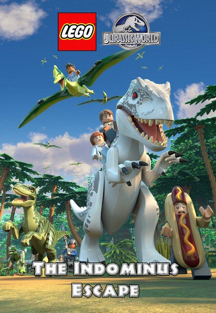 LEGO Jurassic World: The Indominus Escape Poster