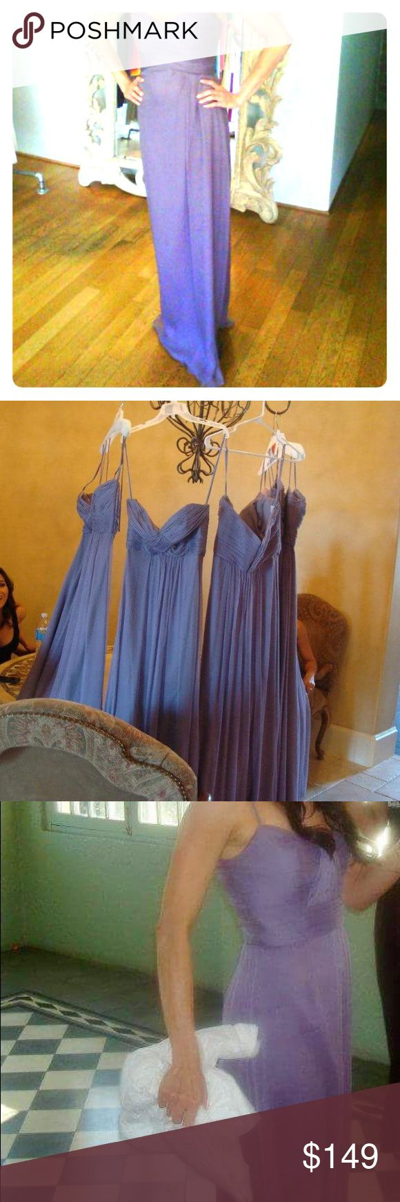 Amsale Bridesmaid Dress Brand: Amsale Dress Item#: G533C Color: Lilac Notes: This dress was worn one time and is in excellent condition. No snags, tears, stains etc. Retails for: $400.00 Amsale Dresses Wedding
