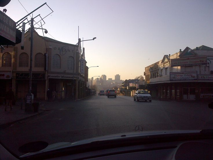 Early Jozi-Morning