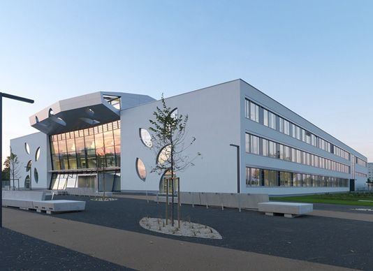Gallery of New Schoolbuilding / Atelier Heiss Architekten - 1