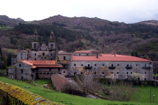 Monasterio de Santa Maria la Real de Oseira San Cristovo de Cea, Ourense, Galicia. Spain