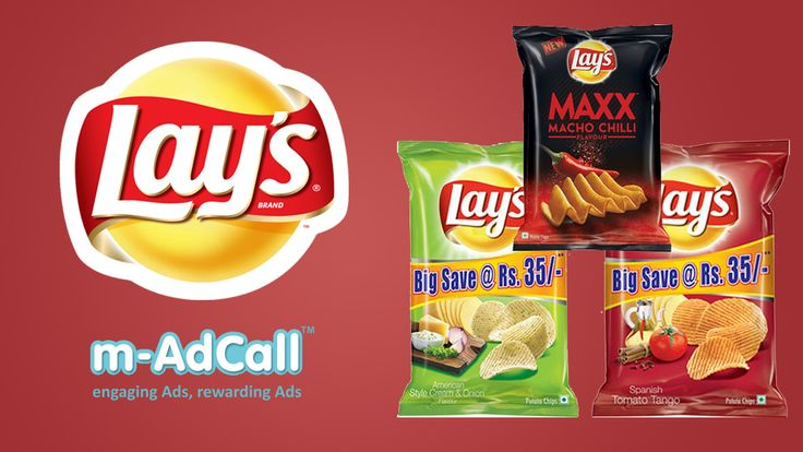 Lays using platform of m-adcall for spreading out their product in states/cities like Uttar Pradesh, Punjab, Kolkata, Assam, Kerala, Chennai, Karnataka, Mumbai targeting both genders belongs to every age group   Here is campaign details: http://goo.gl/jZng26