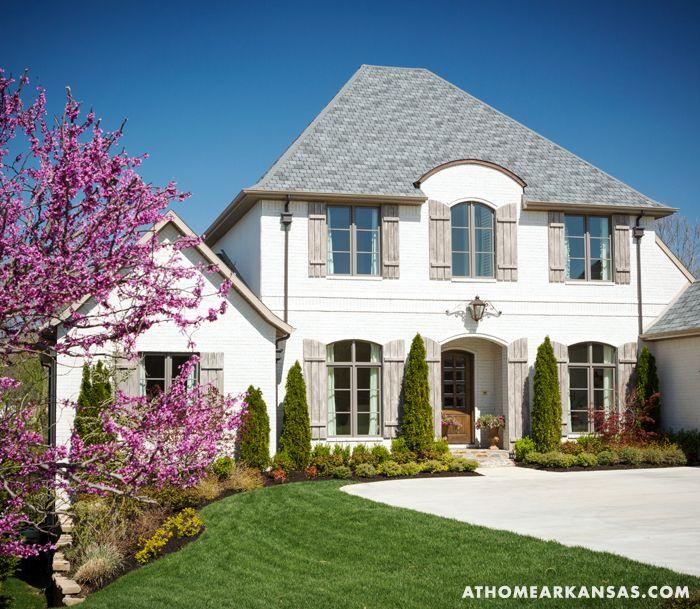 Прибрежный стиль в Арканзасе - Пуфик - блог о дизайне интерьера