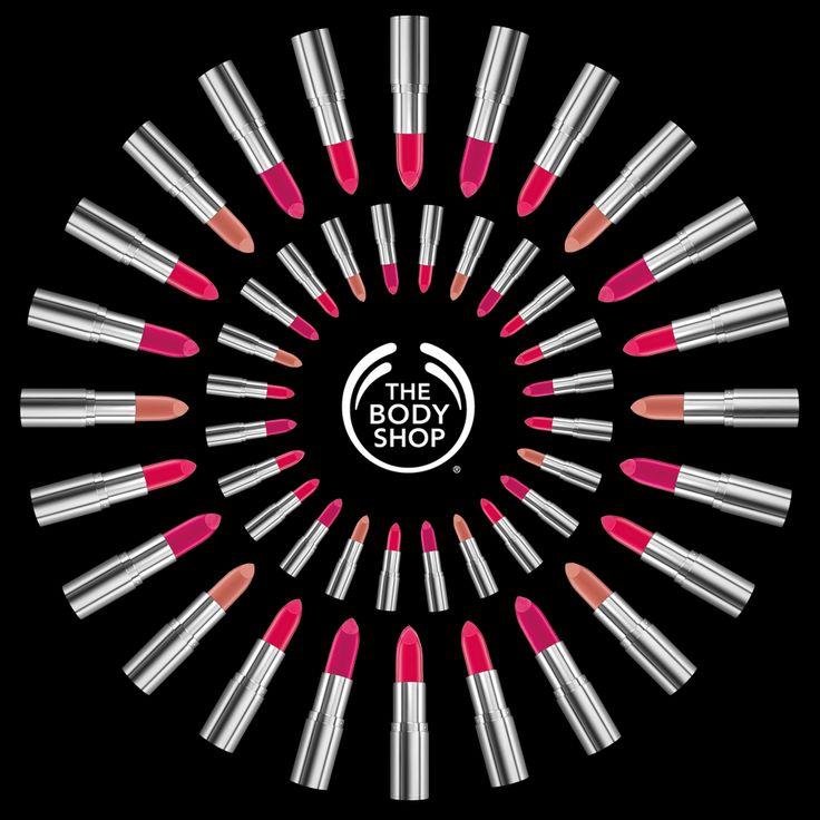 The Body Shop Colour Crush Lipsticks