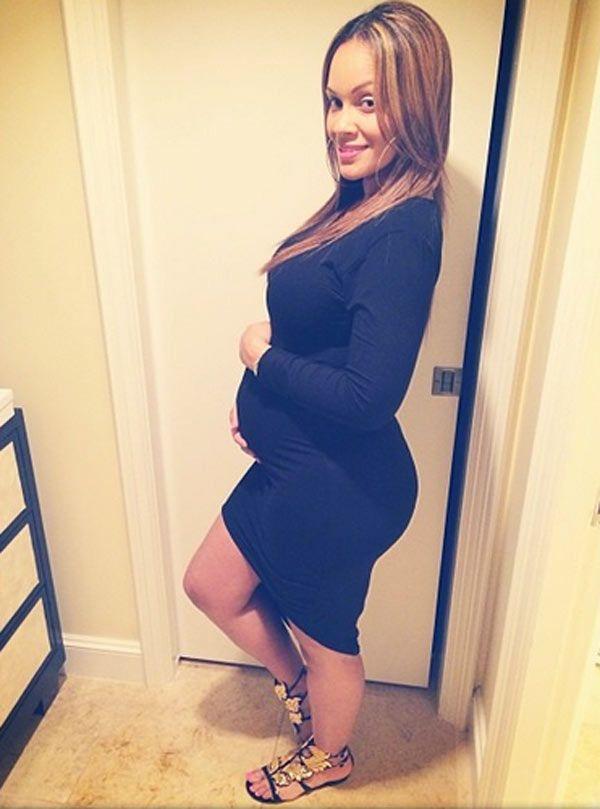 Black Celebrity Baby Bump