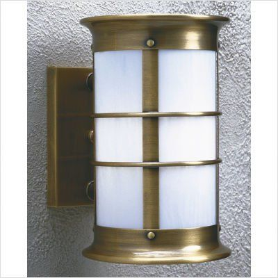 "Arroyo Craftsman NS Newport Outdoor Wall Lantern by Arroyo Craftsman. $351.83. Arroyo Craftsman NS Features: -Newport collection. -Available in several finishes. -Available in several glass shades. -UL listed. -Suitable in wet location. Specifications: -Accommodates: 1 x 100W medium incandescent bulb. -Available sizes:. -24.5"" Overall dimensions: 24.5"" H x 18.75"" W x 20"" D. -Mounting base: 15"" H x 6"" W. -Mount center to top: 14.44"". -21.75"" Overall dimensions:..."