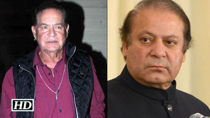Salim Khan SLAMS Pak PM Nawaz Sharif Calls Him Be Nawaz Sharir