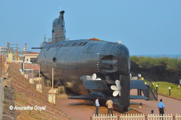 INS Kursura Submarine Museum at Visakhapatnam