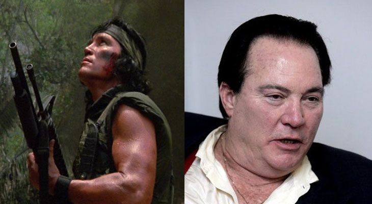 Sonny Landham- American actor played in Predator. Running on the Libertarian Party 2016