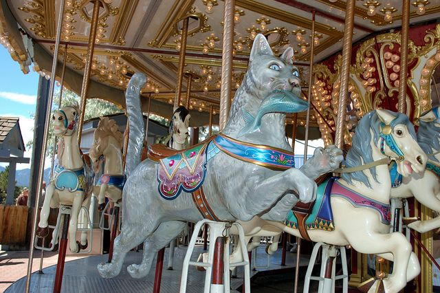 42 Best Images About Carousel Animals On Pinterest