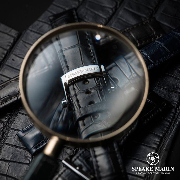The detail of Speake-Marin... www.speake-marin.com