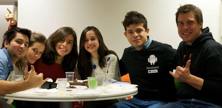 The #AdictikTeam celebrating @JoshMecha and @nexnexnex #birthday with #cake and #shakas ;) #HappyBirthday!