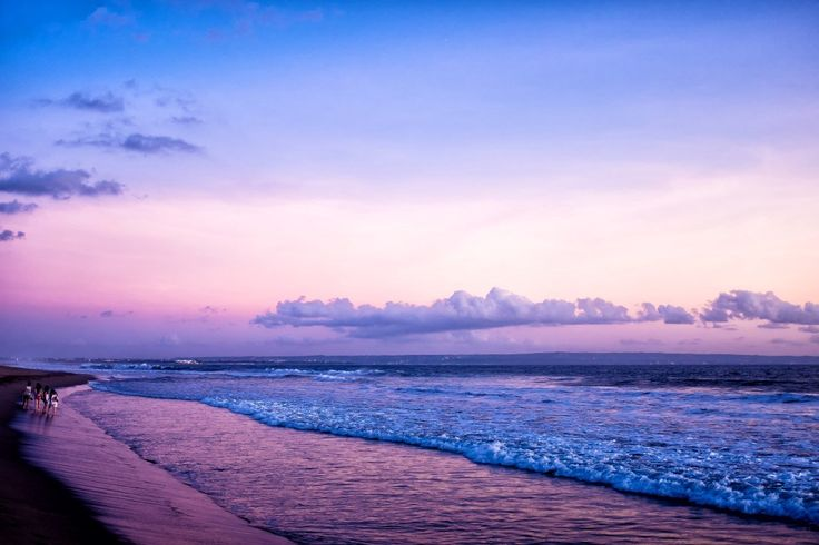 #sunsets #sunset #bali #indonesia #kuta #beach #brawa #purple #sky #balibalibali #photo #photography #TravelPhotography #landscapephotography