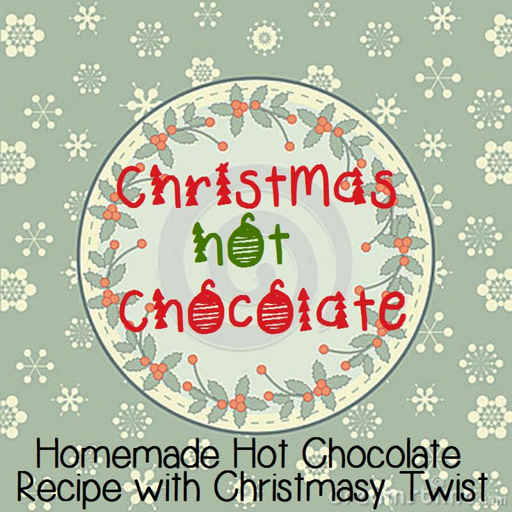 ... chocolate - white hot chocolate - peanut butter hot chocolate - salted