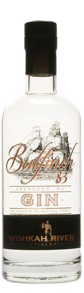 Bulfinch 83 Gin | Gin Distilling | Wishkah River Distillery Aberdeen Washington