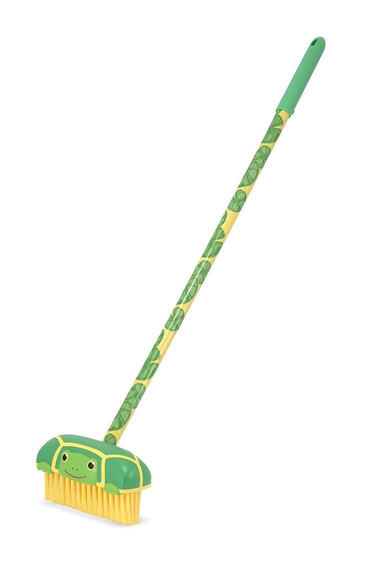 Tootle Turtle Push Broom