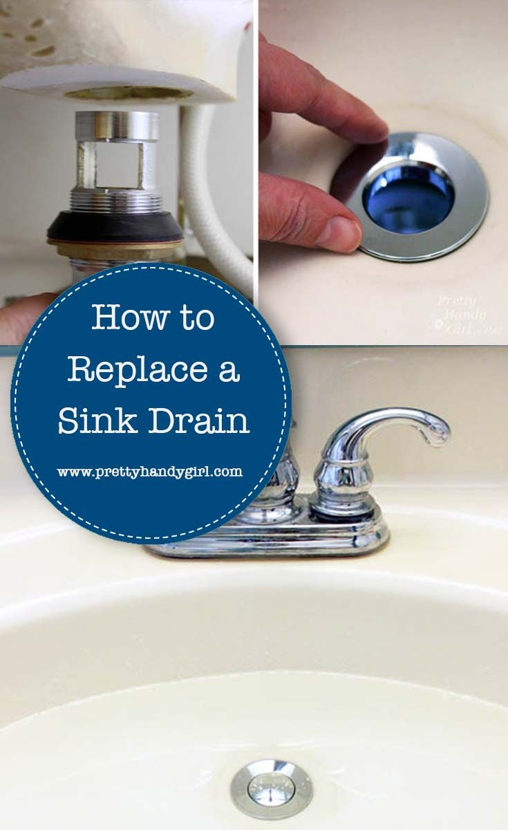 Replacing A Sink Drain In 2020 With Images Diy Plumbing Sink