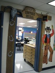 western theme classroom decorations | Bulletin Board/Door Decorations