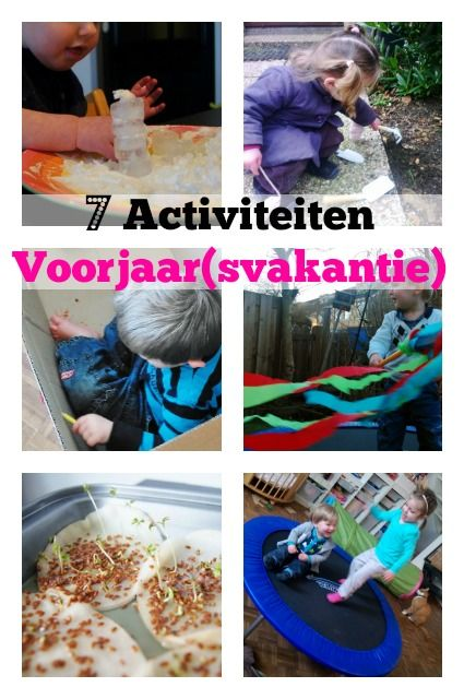 Met deze activiteiten hoeven je kinderen zich niet te vervelen tijdens het voorjaar / voorjaarsvakantie - Mamaliefde.nl
